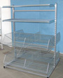 Basket and shelf stand ST2